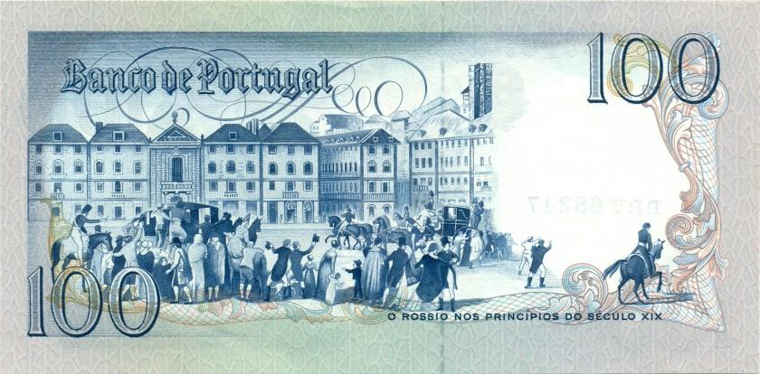 Portugal P178d(3) 100 Escudos 1985 UNC