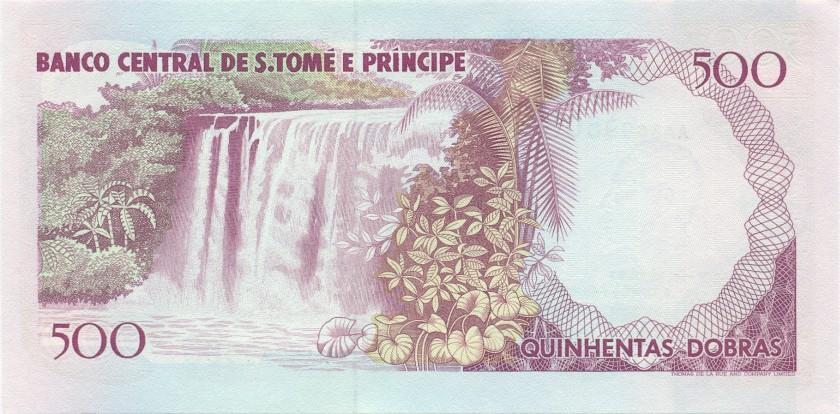 Sao Tome and Principe P63 500 Dobras 1993 UNC