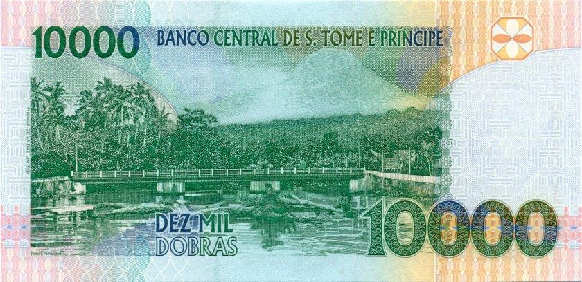 Sao Tome and Principe P66c 10.000 Dobras 2004 UNC