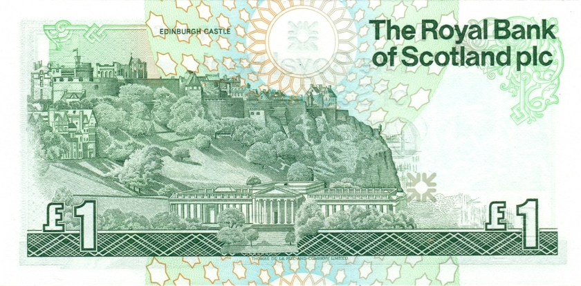 Scotland P346 1 Pound Sterling 1987 UNC