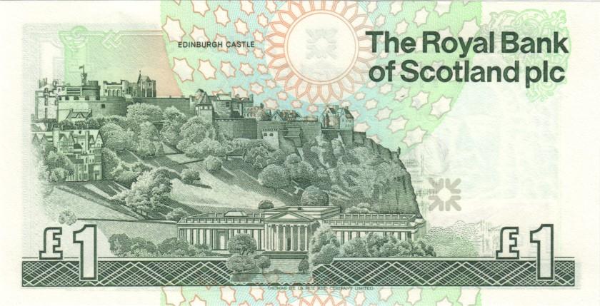 Scotland P351c 1 Pound Sterling 1992 UNC