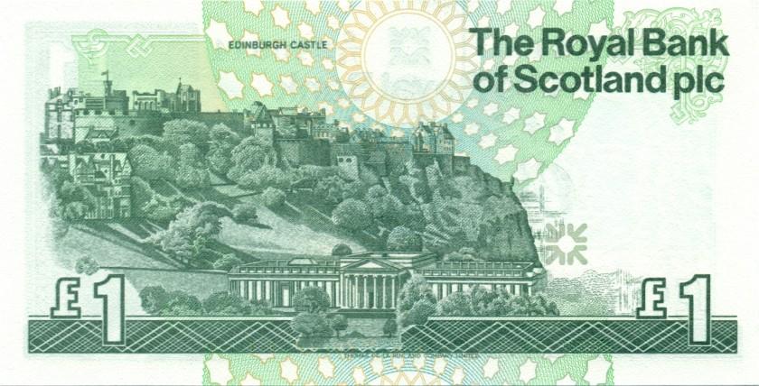 Scotland P351d 1 Pound Sterling 1999 UNC