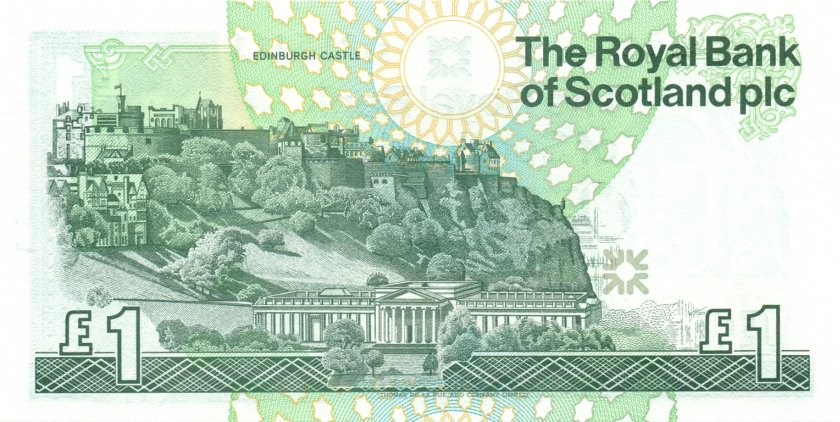 Scotland P351e 1 Pound Sterling 2001 UNC