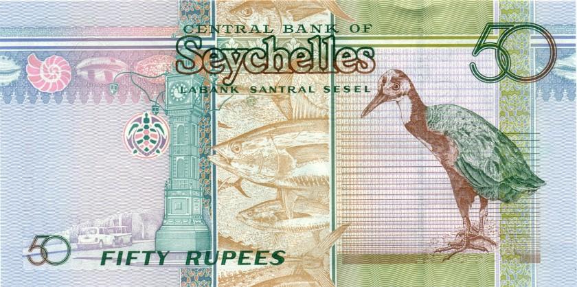 Seychelles P42 50 Rupees 2011 UNC