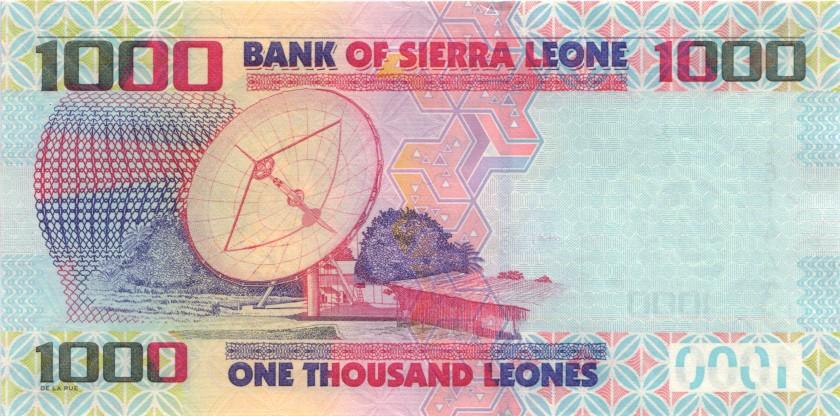 Sierra Leone P30b 1.000 Leones 2013 UNC