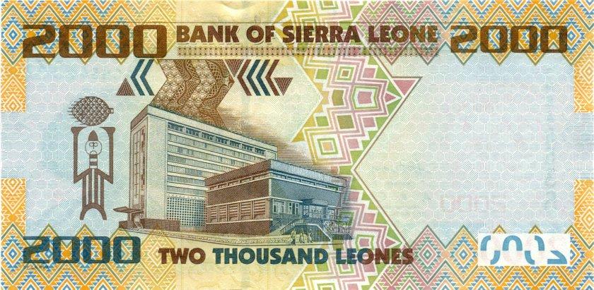 Sierra Leone P31 2.000 Leones 2010 UNC