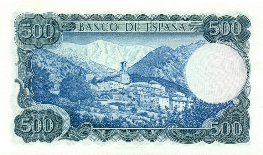 Spain P153 500 Pesetas 1971 UNC
