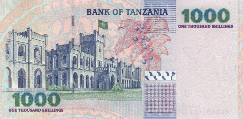 Tanzania P36a 1.000 Shillings 2003 UNC