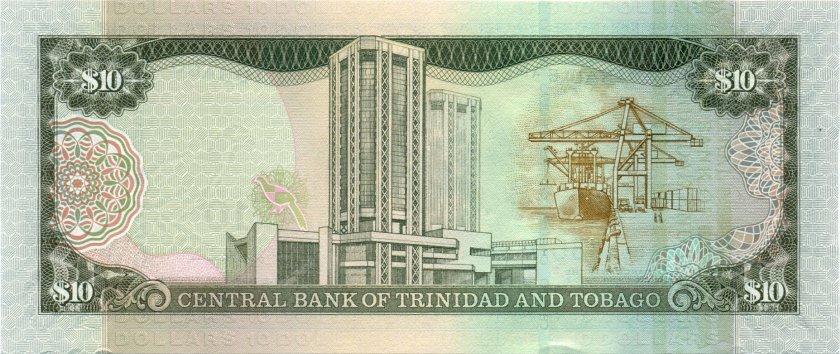 Trinidad and Tobago P48 10 Dollars 2006 UNC