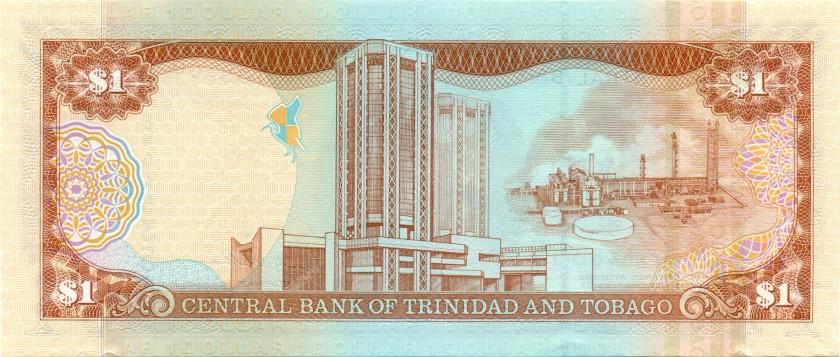 Trinidad and Tobago P46 1 Dollar 2006 UNC