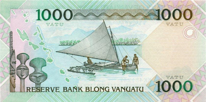 Vanuatu P10 1.000 Vatu 2002 UNC