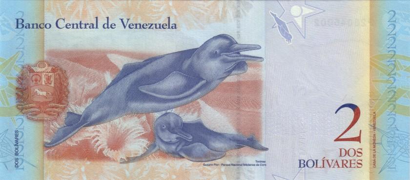 Venezuela P88e 2 Bolivares 27.12.2012 UNC