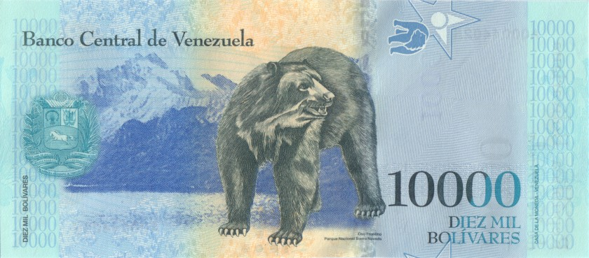 Venezuela P98a 10.000 Bolivares 2016 UNC