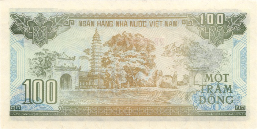 Vietnam P105ar REPLACEMENT 100 Dong 1991 UNC