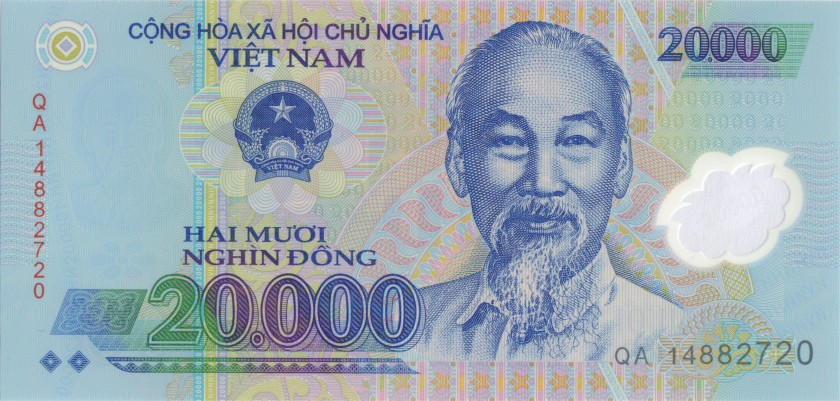 Vietnam P120f 20.000 Dong 2014 UNC