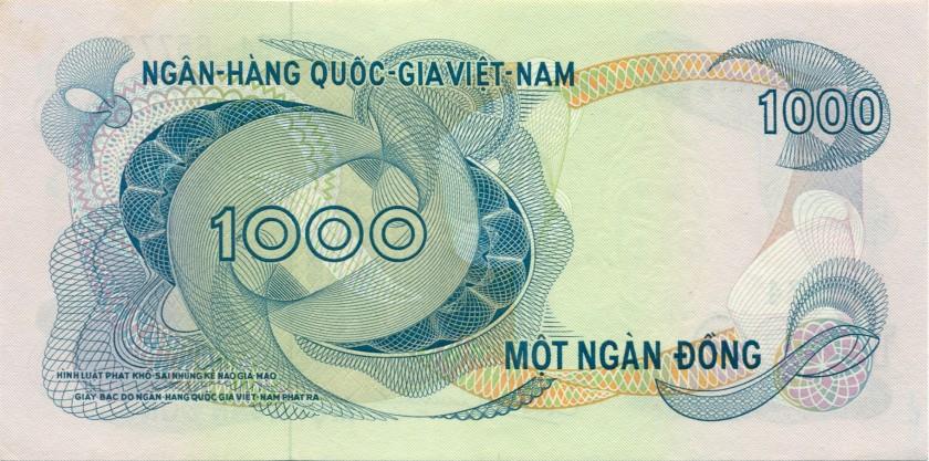 Vietnam South P29 1.000 Dong 1971 UNC