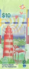 Bahamas P79 10 Dollars 2016 UNC