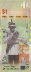 Bahamas P-NEW 1 Dollar 2017 UNC