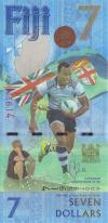 Fiji P-NEW 7 Dollars 2016 UNC