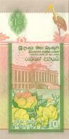 Sri Lanka P108a 10 Rupees 1995 UNC