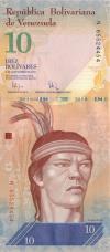 Venezuela P90b 10 Bolívares Bundle 100 pcs 2009 UNC