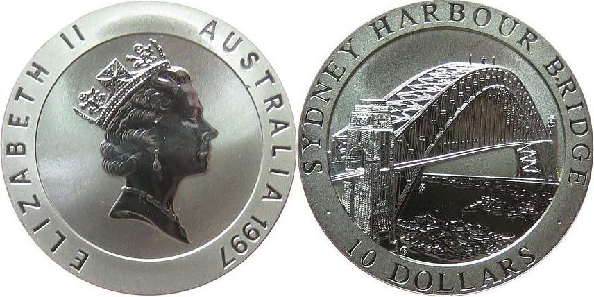 Australia 1997 KM# 354 10 Dollars Proof