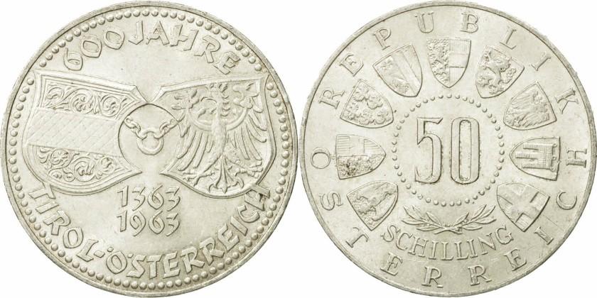 Austria 1963 KM# 2894 50 Schilling UNC