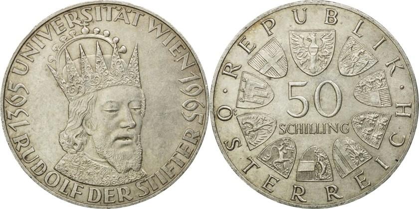 Austria 1965 KM# 2898 50 Schilling UNC