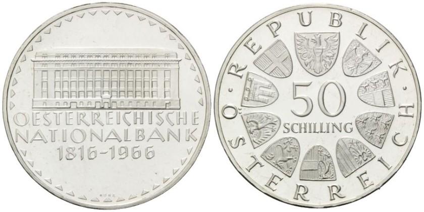 Austria 1966 KM# 2900 50 Schilling UNC