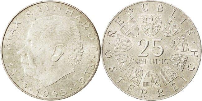 Austria 1973 KM# 2915 25 Schilling UNC