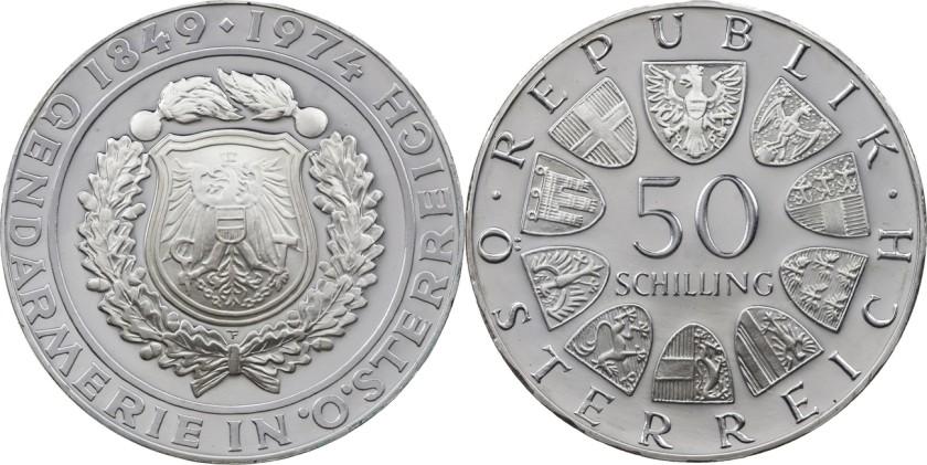 Austria 1974 KM# 2920 50 Schilling UNC