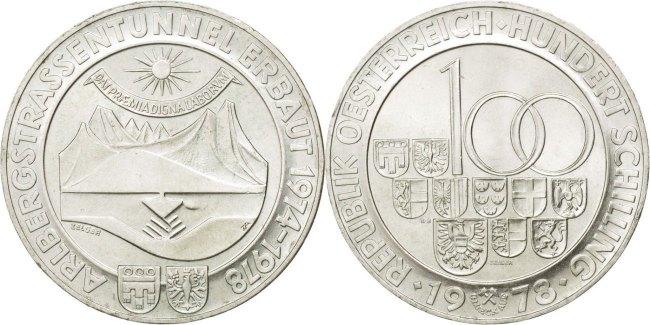 Austria 1978 KM# 2941 100 Schilling UNC