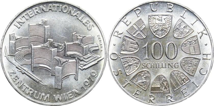 Austria 1979 KM# 2944 100 Schilling UNC