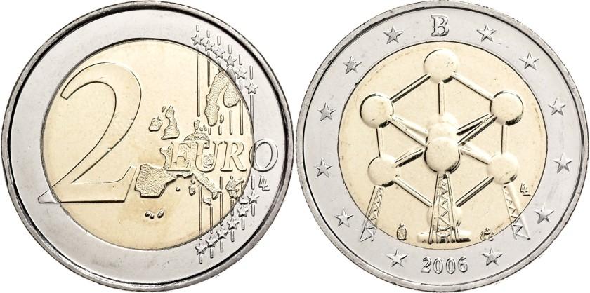 Belgium 2006 2 Euro Atomium UNC