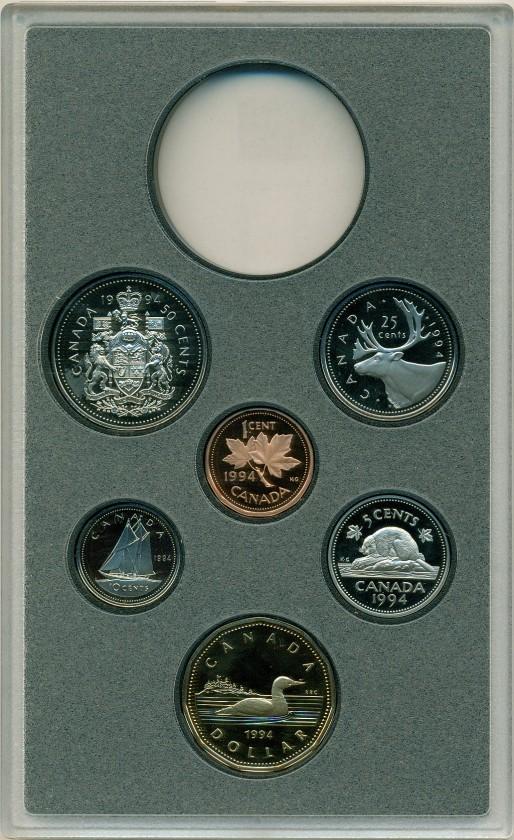 Canada 1994 Mint set KM# 181-186 Proof
