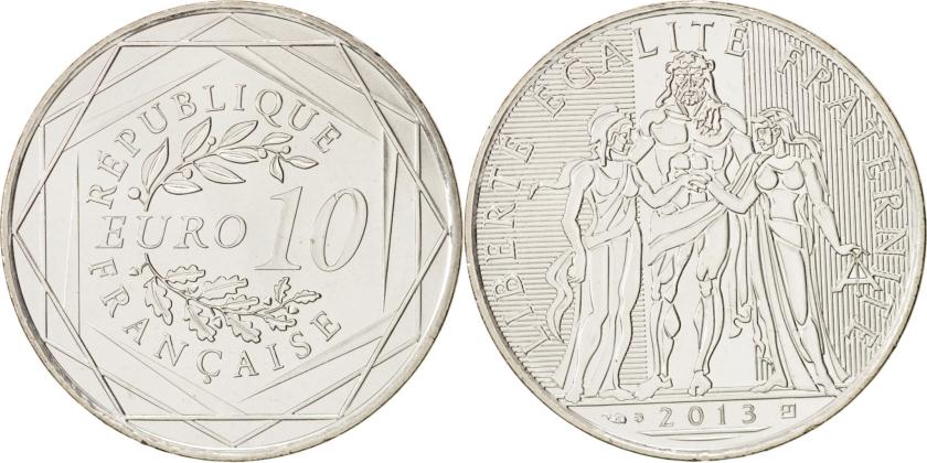 France 2013 10 Euro UNC