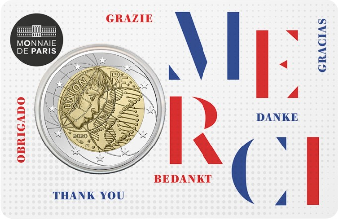 France 2020 2 Euro Medical Research MERCI UNC