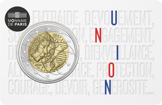 France 2020 2 Euro Medical Research UNION UNC