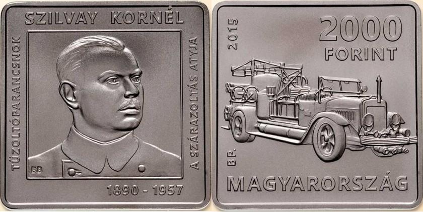 Hungary 2015 2000 Forint Kornél Szilvay BU