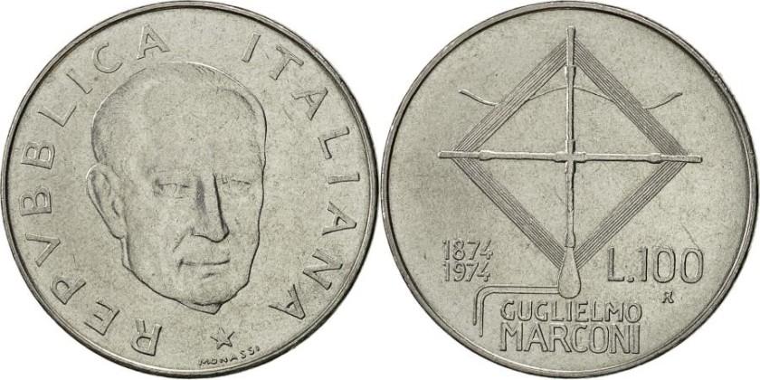 Italy 1974 KM# 102 100 Lire UNC
