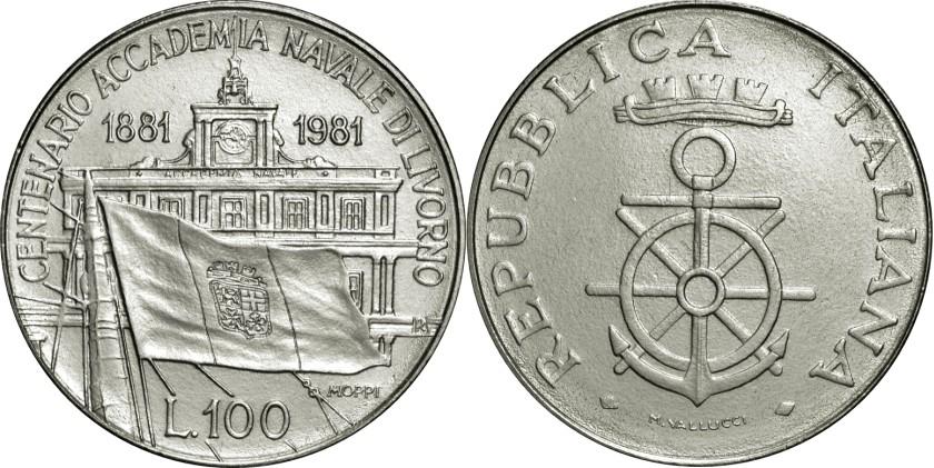 Italy 1981 KM# 108 100 Lire UNC