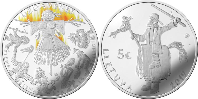 Lithuania 2019 Užgavėnės Silver
