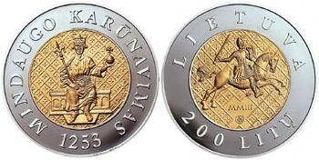 Lithuania 2003 Crowning of Mindaugas