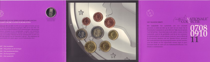 Netherlands 2011 Mint set of euro coins UNC