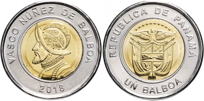 Panama 2018 1 Balboa UNC