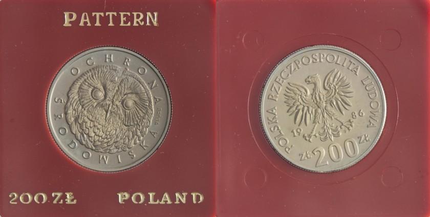 Poland 1986 KM# Pr533 200 Złotych UNC
