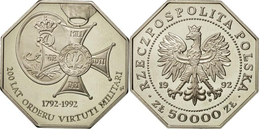 Poland 1992 Y# 229 50000 Zlotych