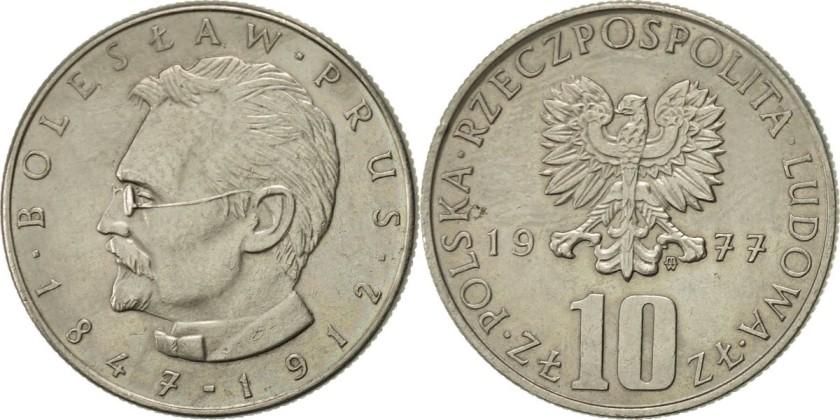 Poland 1977 Y# 73 10 Zlotych