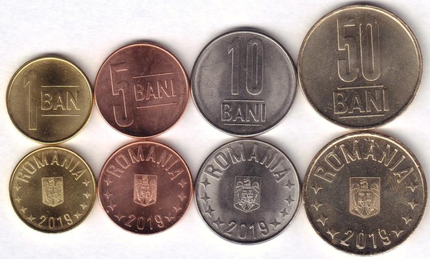 Romania 2019 4 coins UNC