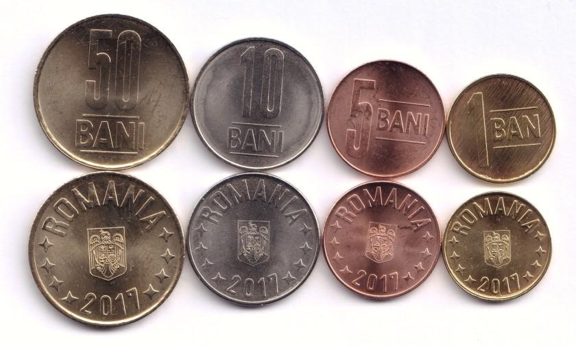 Romania 2017 4 coins UNC